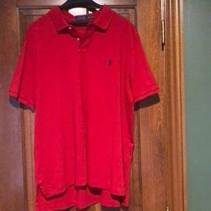 Ralph Lauren Mens XXL polo red shirt